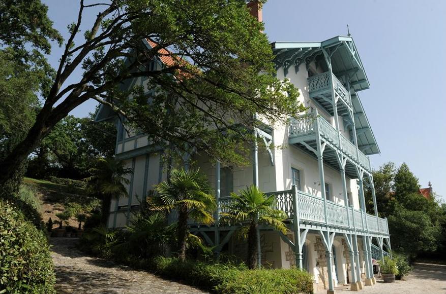 La villa Margueritte accueillit plusieurs fois le compositeur Claude Debussy. © Photo Didier Raux