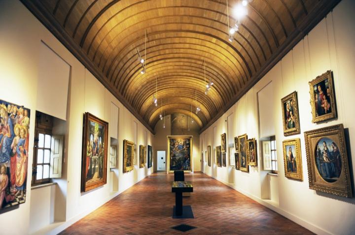 Situé dans le palais des ducs et des États de Bourgogne, le Musée des Beaux-Arts de Dijon est l'un des plus anciens musée de France. © Photo Didier Raux
