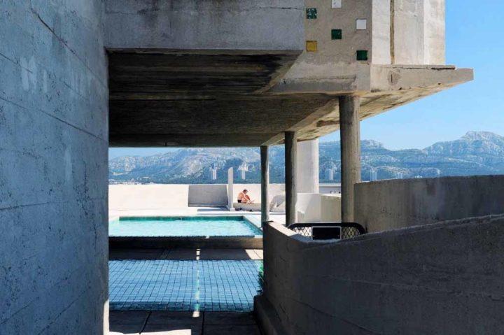 Cite radieuse Le Corbusier © Didier Raux