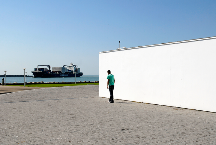 Port du Havre et le musée André Malraux (Architectes : Lagneau, Audigier, Jean Prouvé).© Photo Didier Raux