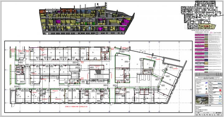 Plans d'étage Ajaccio