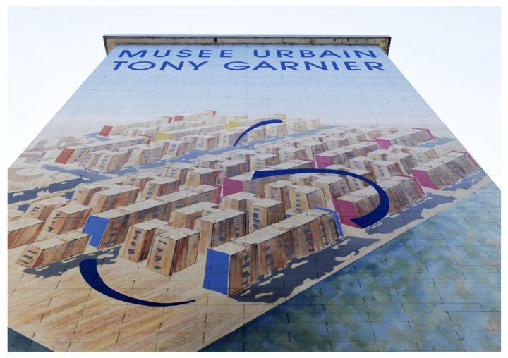 Le Musée Urbain Tony Garnier est une magnifique aventure artistique partagée entre les habitants, les artistes de la Cité de la Création et de Grand Lyon Habitat. © Photos Didier Raux