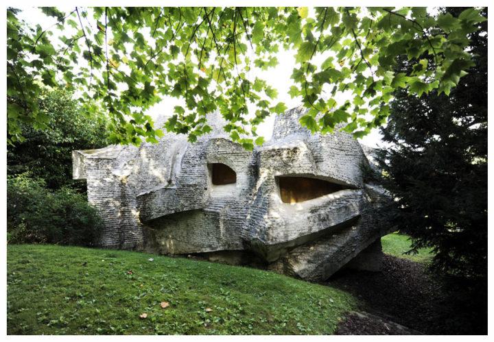 Sculptures habitacles André Bloc 17