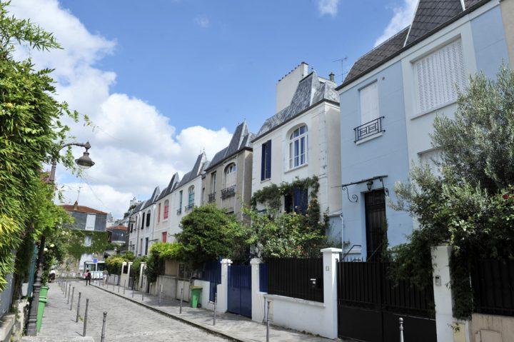 Les rues colorées de Paris 1
