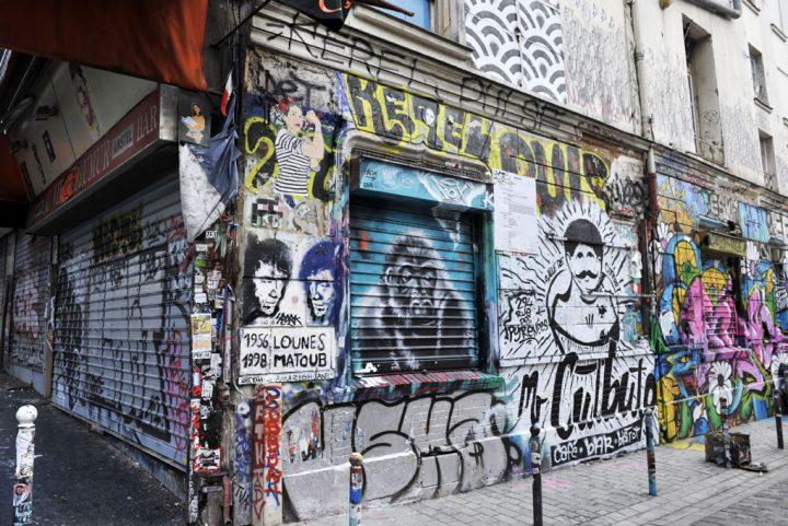 Les rues colorées de Paris 10