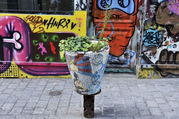 Les rues colorées de Paris 11