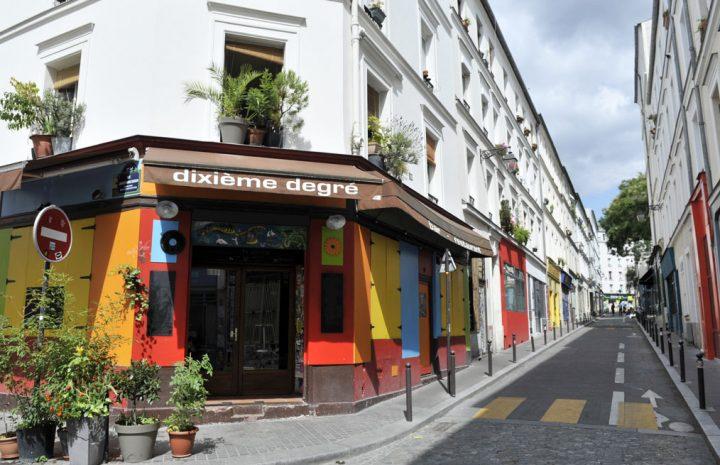 Les rues colorées de Paris 12