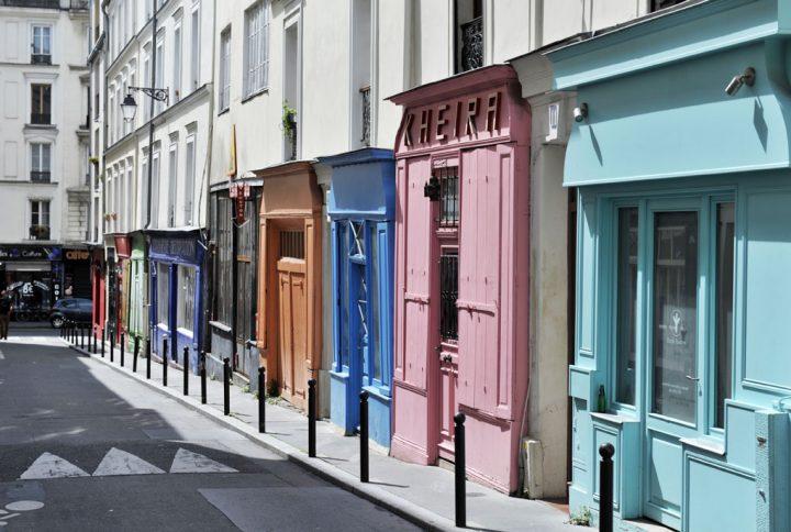 Les rues colorées de Paris 15