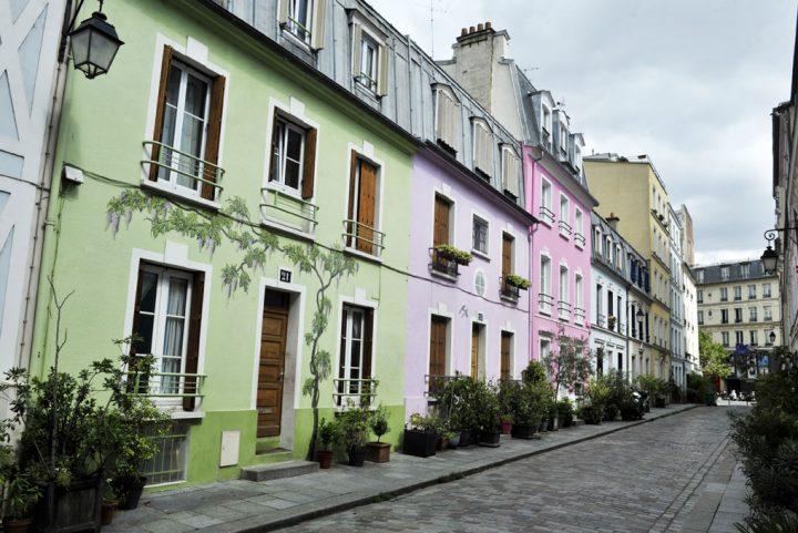 Les rues colorées de Paris 3