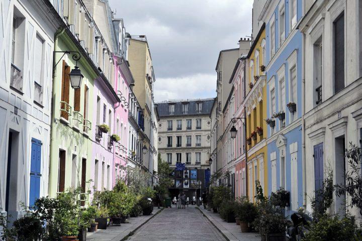 Les rues colorées de Paris 7