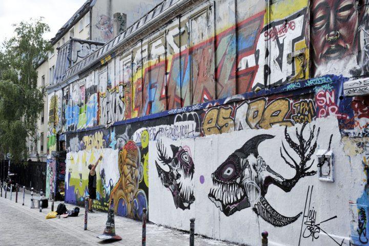 Les rues colorées de Paris 9