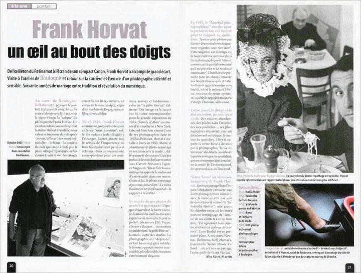 Franck Horvat © D RAUX 2
