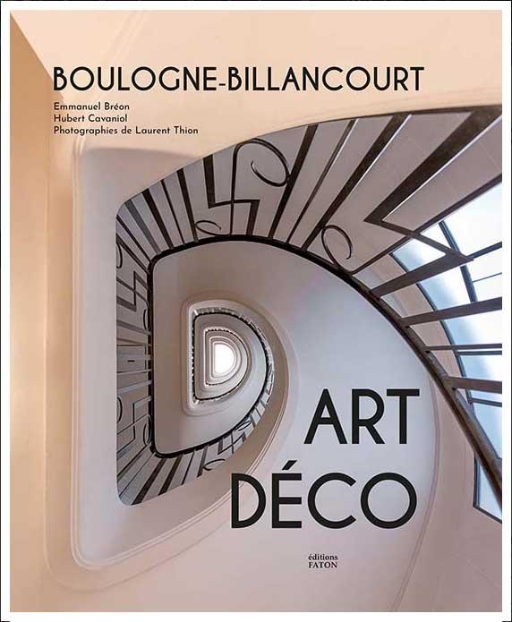 Livre Boulogne-Billancourt ART DECO 1