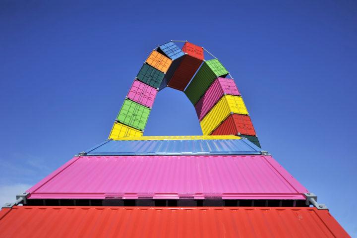 Parcours d'art contemporain Le Havre Les Containers 2