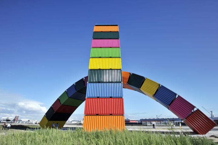 Parcours d'art contemporain Le Havre Les Containers 4