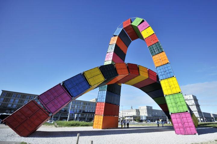 Parcours d'art contemporain Le Havre Les Containers 5