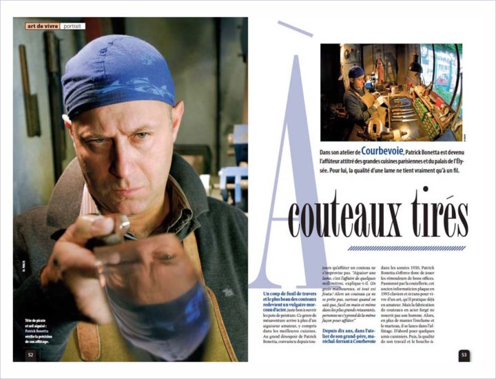 Affuteur Bonetta © Didier Raux