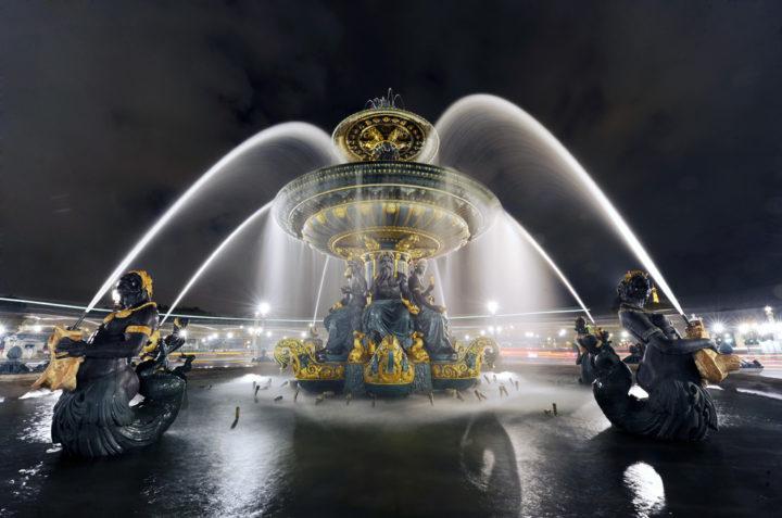 FONTAINE PLACE DE LA CONCORDE Paris © D Raux