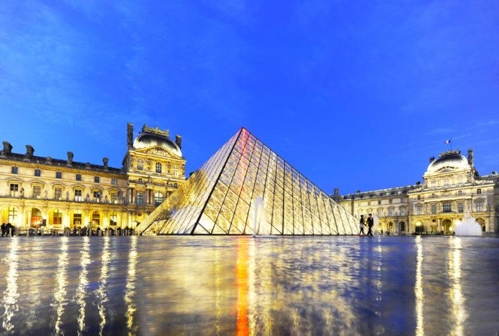 PYRAMIDE DU LOUVRE Paris © D Raux