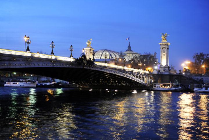 Pont Alexandre 3 et Grand Palais Paris © D Raux
