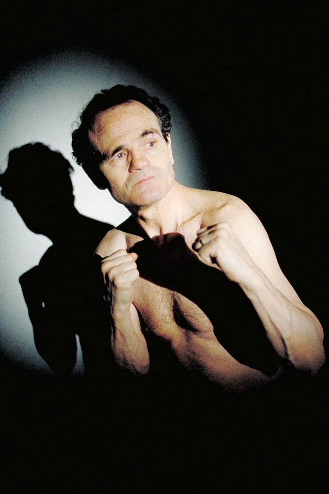 Le Boxeur Alphonse Halimi © Didier Raux 2