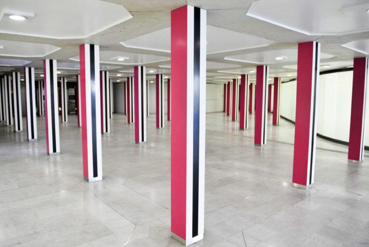Le Carrefour aux 50 piliers © Didier Raux 1