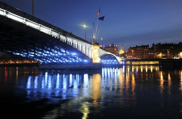 Installer « un véritable paysage nocturne », tel est l'objectif recherché et développé par la ville de Lyon