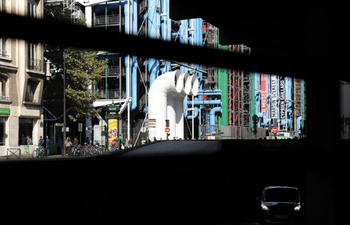 Centre Pompidou Paris © Didier Raux 1