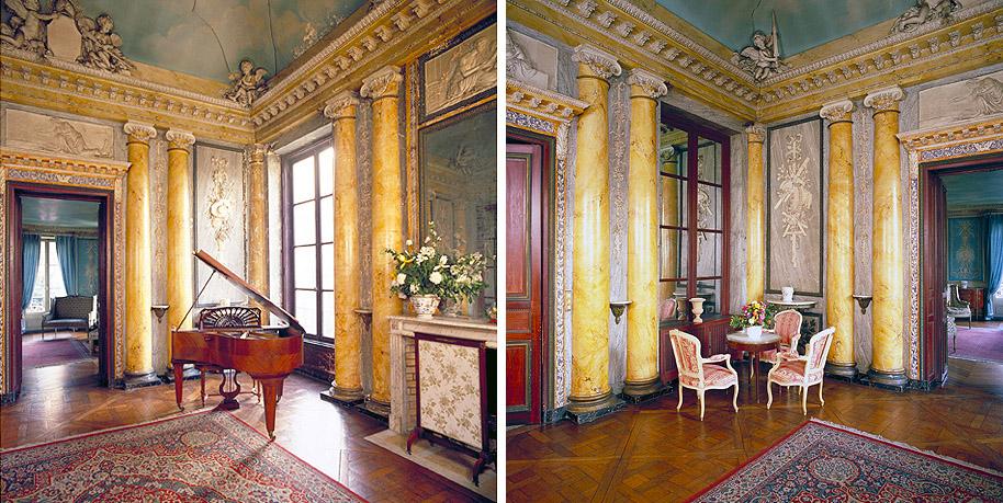 Hôtel particulier de Guines à Courbevoie. © Photo Didier Raux