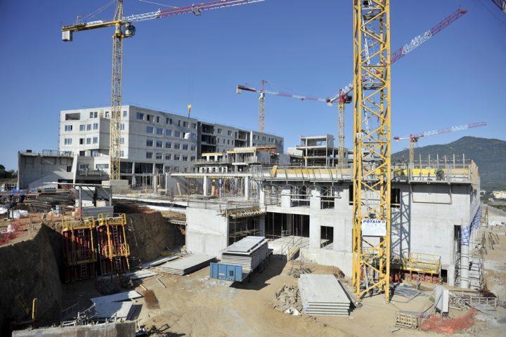 L'Hôpital d'Ajaccio récompensé au BIM d'Or ! BIM-Cloisons, la 1re solution BIM entièrement dédiée aux métiers du plâtre et de l'isolation. © Photo Didier Raux