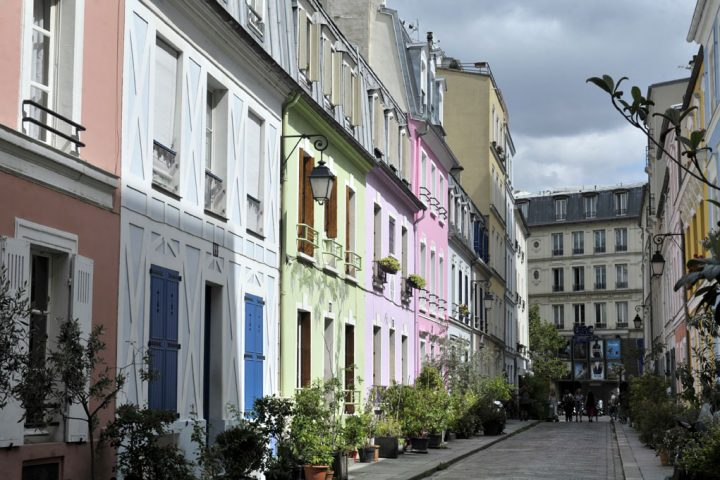 Les rues colorées de Paris 4