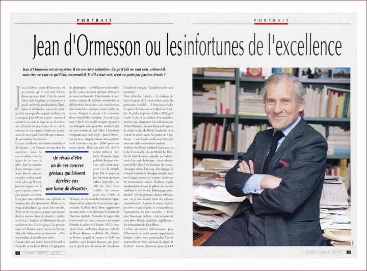 C ARTICLE JEAN DORMESSON © DIDIER RAUX 10