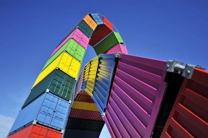 Parcours d'art contemporain Le Havre Les Containers 7