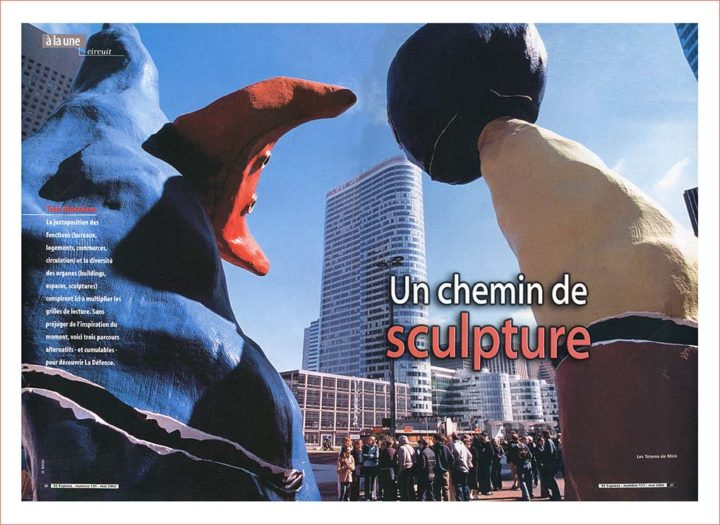 Sculpture La Défense © Didier Raux 2