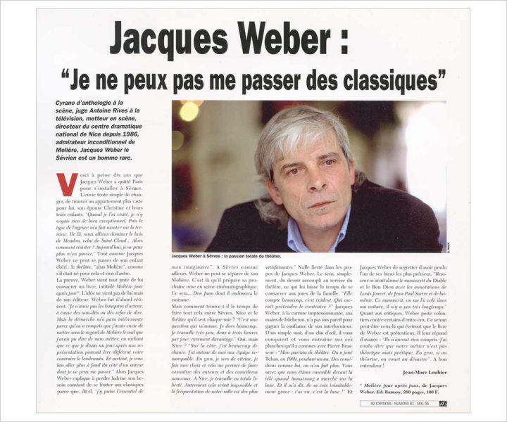 JACQUES WEBER © Didier Raux 3